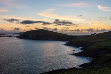 Slea Head Drive Dingle - Sonnenuntergang